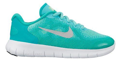 Kids Nike Free RN 2017 Running Shoe - Grey/Pink 12C