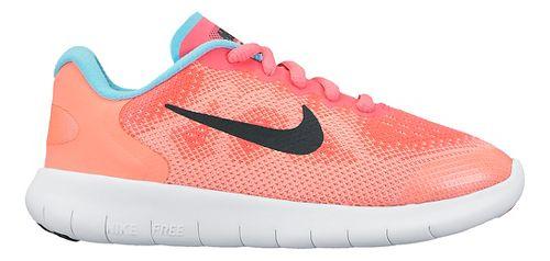 Kids Nike Free RN 2017 Running Shoe - Pink 11C