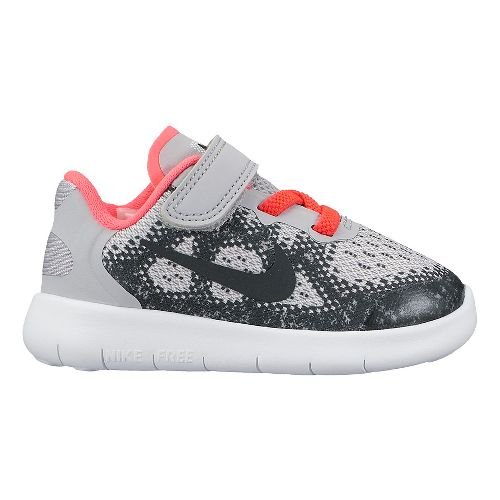 Kids Nike Free RN 2017 Running Shoe - Pink 10C