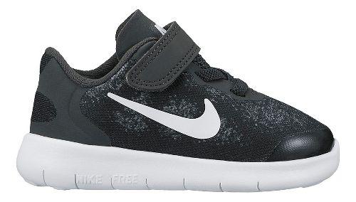 Kids Nike Free RN 2017 Running Shoe - Black 5C