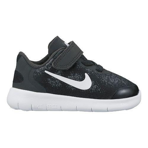 Kids Nike Free RN 2017 Running Shoe - Black 7C