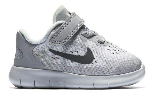 Kids Nike Free RN 2017 Running Shoe - Black 6C
