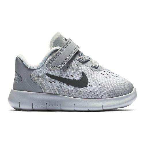 Kids Nike Free RN 2017 Running Shoe - Grey 6C