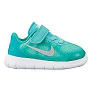 Kids Nike Free RN 2017 Running Shoe - Pink 8C