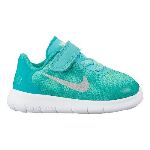 Kids Nike Free RN 2017 Running Shoe - Turquoise 5C
