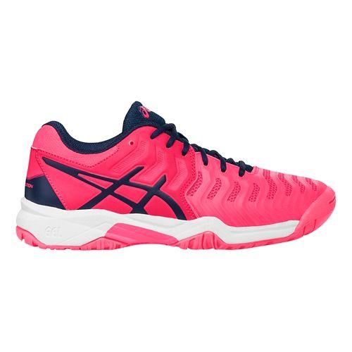 ASICS Kids GEL-Resolution 7 Court Shoe - Diva Pink/Indigo 3.5Y