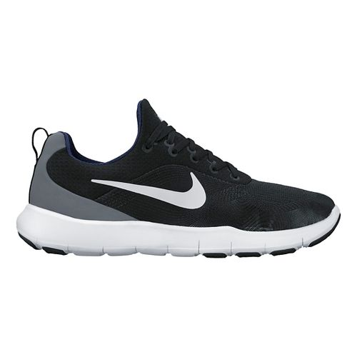 Mens Nike Free Trainer v7 Cross Training Shoe - Black/White 14