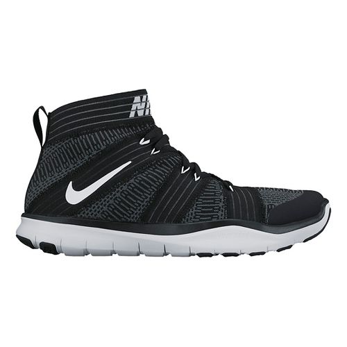 Mens Nike Free Train Virtue Cross Training Shoe - Black 12.5