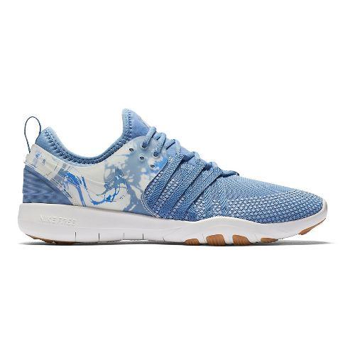 Womens Nike Free TR 7 Cross Training Shoe - Blue 10.5
