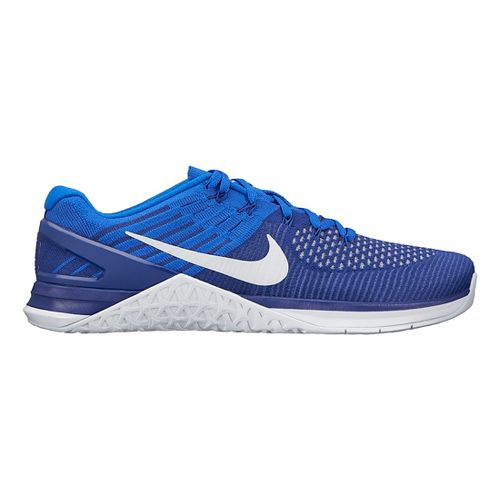 Mens Nike MetCon DSX Flyknit Cross Training Shoe - Black/White 10