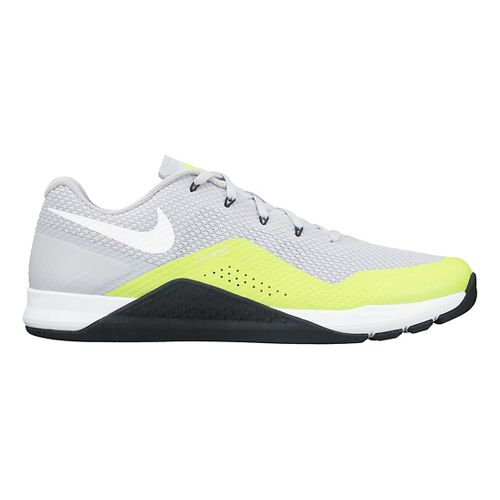 Mens Nike MetCon Repper DSX Cross Training Shoe - Grey/Volt 10.5
