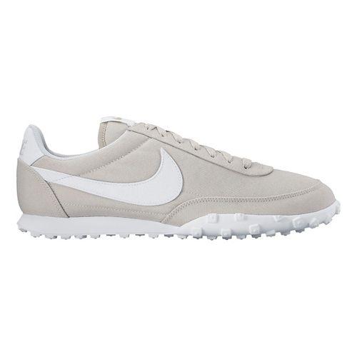 Mens Nike Waffle Racer '17 TXT Casual Shoe - Grey 11.5