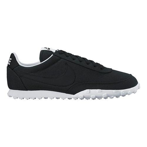 Mens Nike Waffle Racer '17 TXT Casual Shoe - Black 11.5