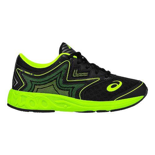 ASICS Kids Noosa FF Running Shoe - Black/Green Gecko 4.5Y