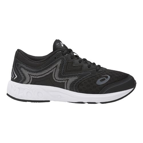 Kids ASICS Noosa FF Running Shoe - Black/White 7Y