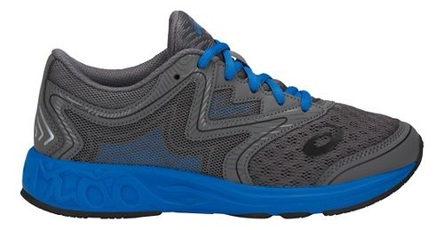 Kids ASICS Noosa FF Running Shoe - Carbon/Blue/Black 5Y