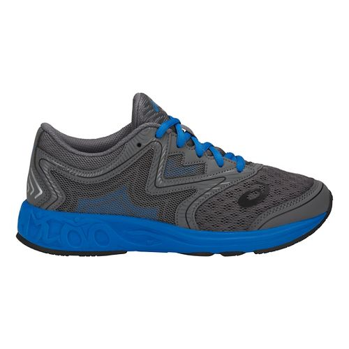 Kids ASICS Noosa FF Running Shoe - Carbon/Blue/Black 4.5Y