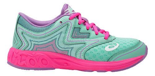 Kids ASICS Noosa FF Running Shoe - Mint/Pink 6.5Y
