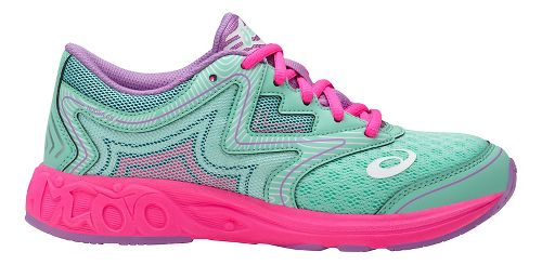 ASICS Noosa FF Running Shoe - Mint/Pink 6Y