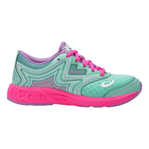 ASICS Noosa FF Running Shoe - Mint/Pink 3Y