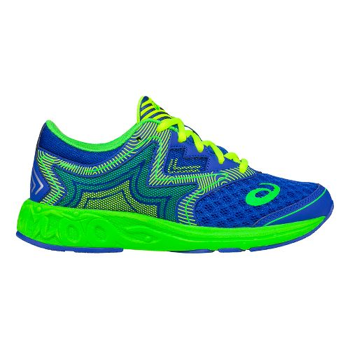 ASICS Kids Noosa FF Running Shoe - Blue/Green 4Y