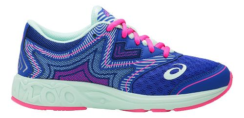 Kids ASICS Noosa FF Running Shoe - Blue Purple/Mint 3Y
