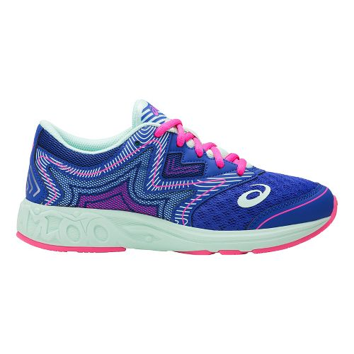 ASICS Noosa FF Running Shoe - Blue Purple/Mint 7Y