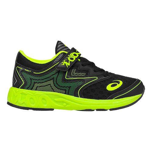 ASICS Kids Noosa FF Running Shoe - Black/Green Gecko 11C