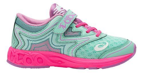 Kids ASICS Noosa FF Running Shoe - Mint/Pink 1Y