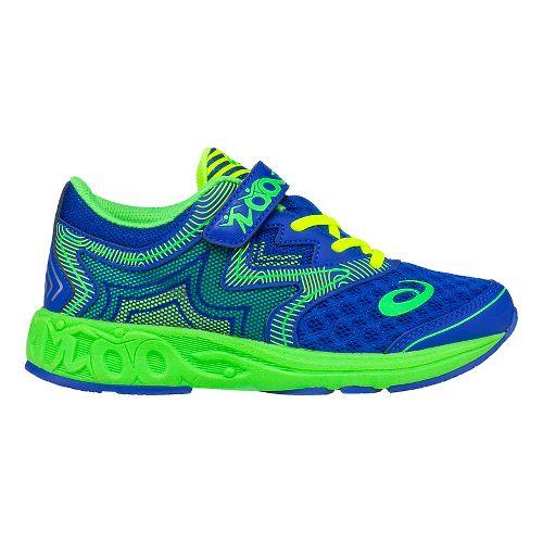 ASICS Kids Noosa FF Running Shoe - Blue/Green 13C