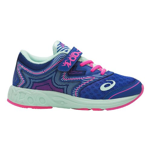 ASICS Noosa FF Running Shoe - Blue Purple/Mint 3Y