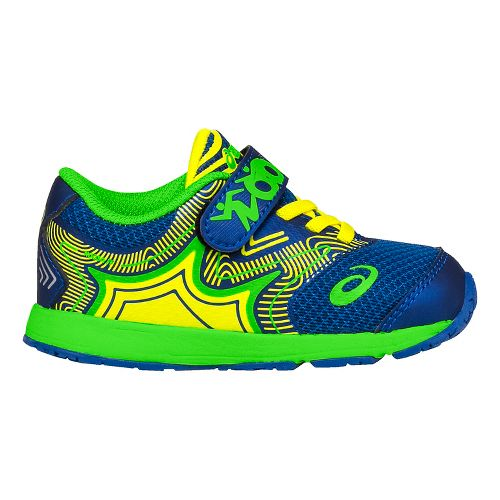 ASICS Kids Noosa FF Running Shoe - Blue/Green 8C