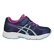 Kids ASICS PRE-Contend 4 Running Shoe - Blue/Orchid 1.5Y