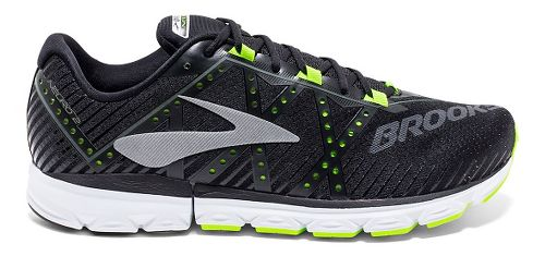 Mens Brooks Neuro 2 Running Shoe - Black/Neon 14