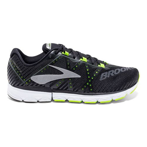 Mens Brooks Neuro 2 Running Shoe - Black/Neon 10