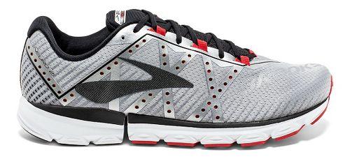 Mens Brooks Neuro 2 Running Shoe - Silver/Black/High 8