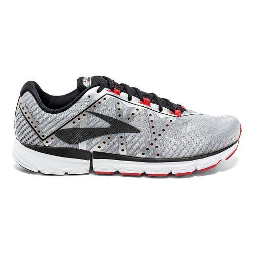Mens Brooks Neuro 2 Running Shoe - Silver/Black/High 14
