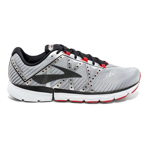 Mens Brooks Neuro 2 Running Shoe - Silver/Black/High 8