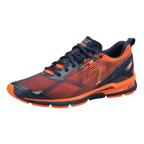 Mens 361 Degrees Onyx Running Shoe - Midnight/Vibe 10