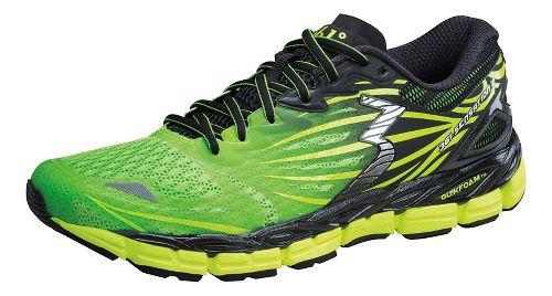 Mens 361 Degrees Sensation 2 Running Shoe - Lime/Black 9