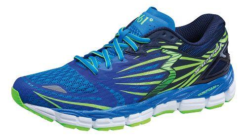 Mens 361 Degrees Sensation 2 Running Shoe - Sapphire/Gecko 8