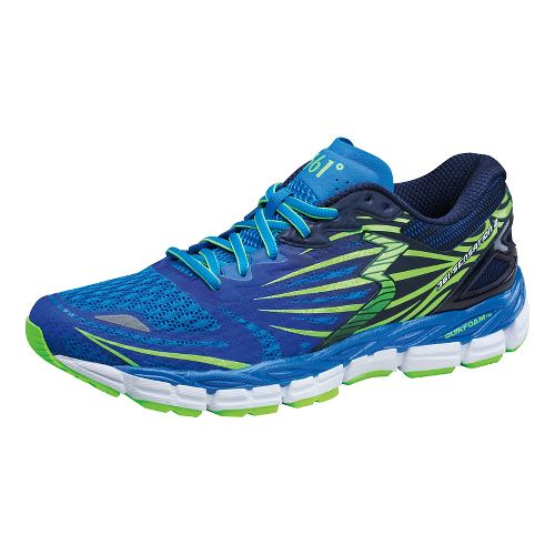 Mens 361 Degrees Sensation 2 Running Shoe - Sapphire/Gecko 11