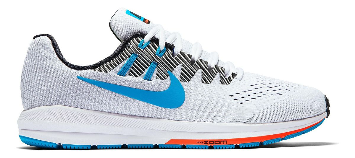 mens nike air zoom structure 20 anniversary running shoe