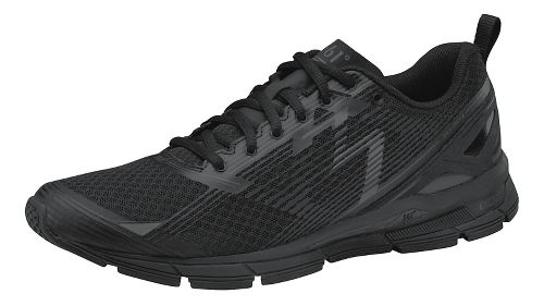 Womens 361 Degrees Onyx Running Shoe - Black/Castlerock 10.5
