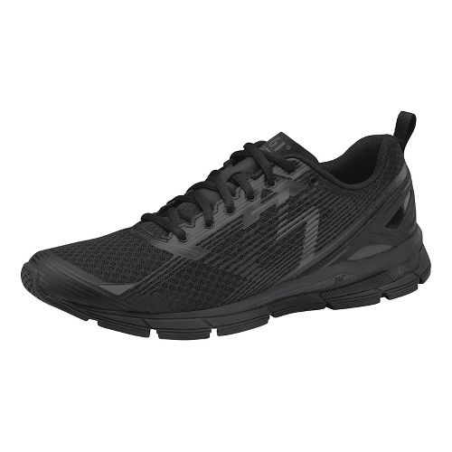 Womens 361 Degrees Onyx Running Shoe - Black/Castlerock 8.5
