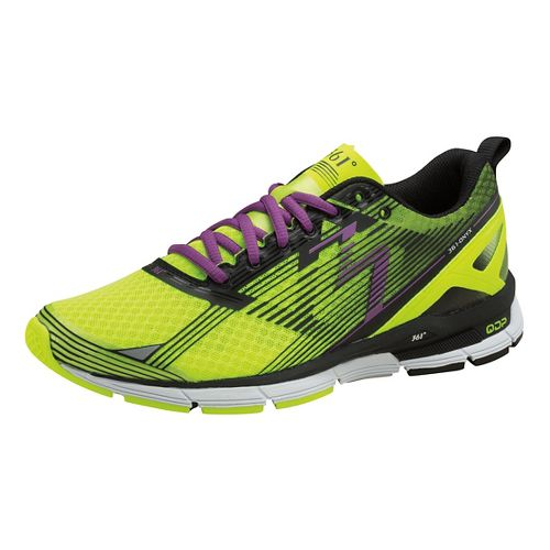 Womens 361 Degrees Onyx Running Shoe - Spark/Black 9.5