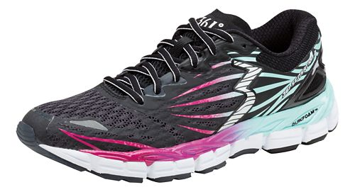 Womens 361 Degrees Sensation 2 Running Shoe - Ebony/Aruba 5.5