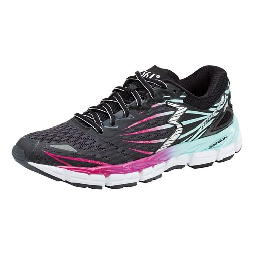 Womens 361 Degrees Sensation 2 Running Shoe - Ebony/Aruba 10.5