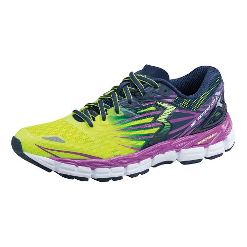 Womens 361 Degrees Sensation 2 Running Shoe - Spark/Crush 6