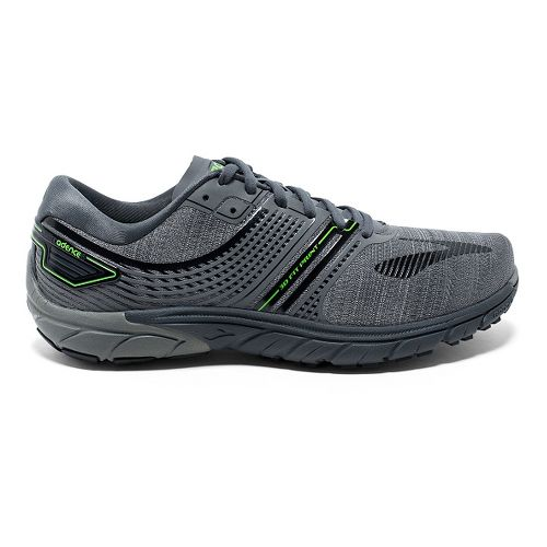 Mens Brooks PureCadence 6 Running Shoe - Castle Rock/Black 7.5